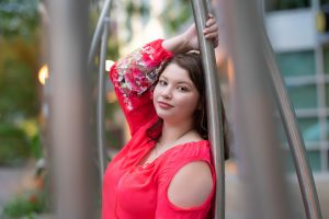 Downtown Youngstown Senior Photography LA Images